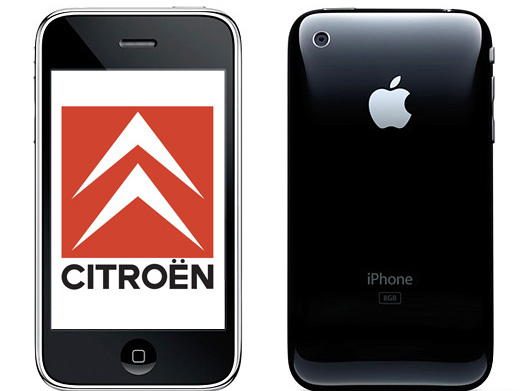iPhone 3GS y el Bluetooth de Citroën