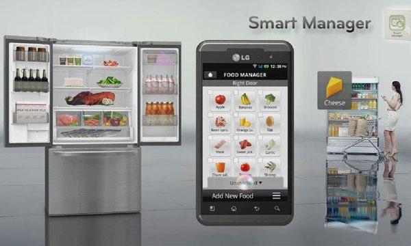 LG frigorifico con WI-Fi
