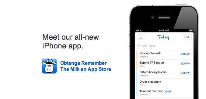 Remember The Milk productividad en Android