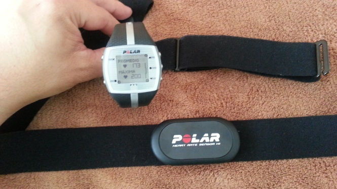 Analisis y review del Pulsometro Polar FT7