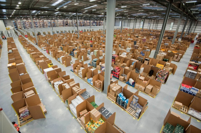 Almacen Logistico de Amazon
